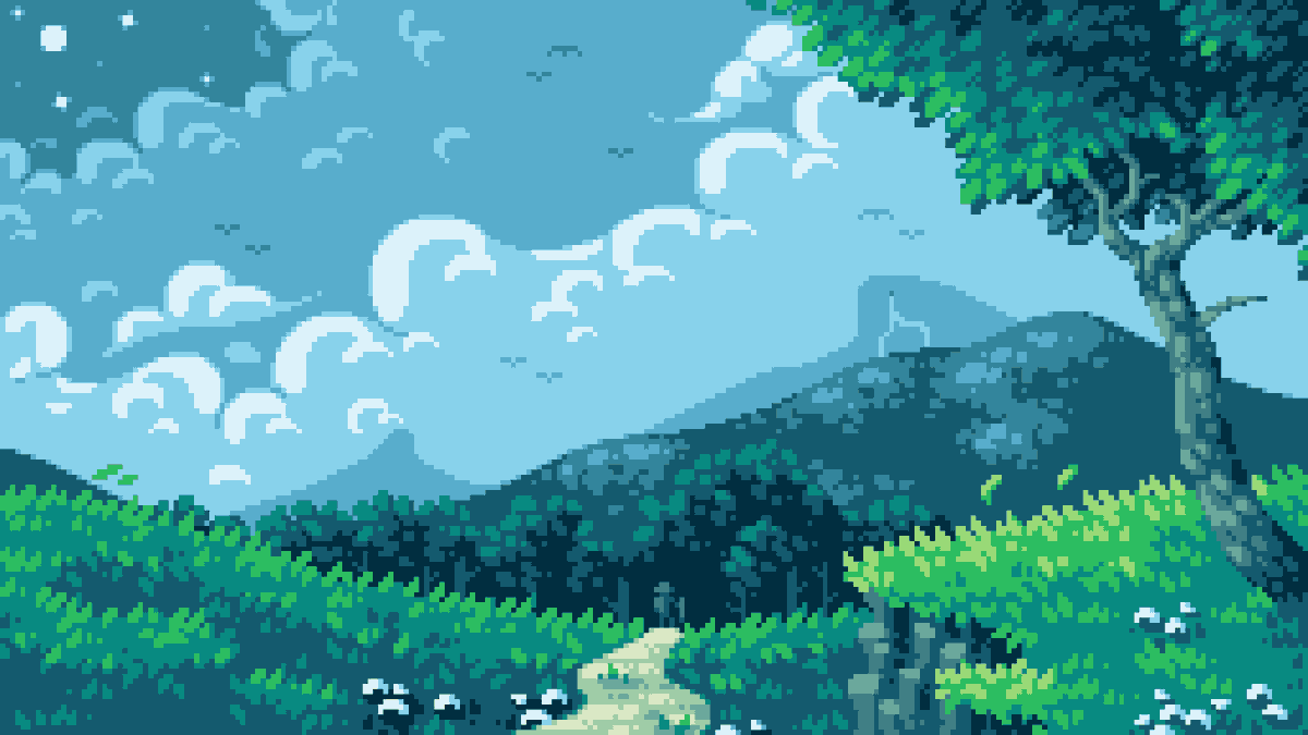Traveled Path by Wolf   #pixilart #pixelart #pixilartapp #pixels #art #app #drawing #digitalart #8bit #artist #scenery