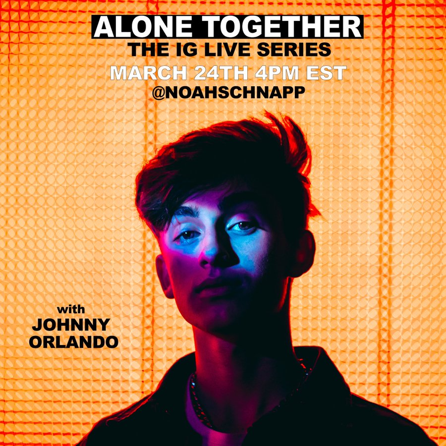 Catch @IslandRecords label mates @PUBLICTHEBAND & @johnnyorlando LIVE on Instagram today at 4 p.m. ET!  ↳ https://umg.lnk.to/JohnnyOrlandoIG