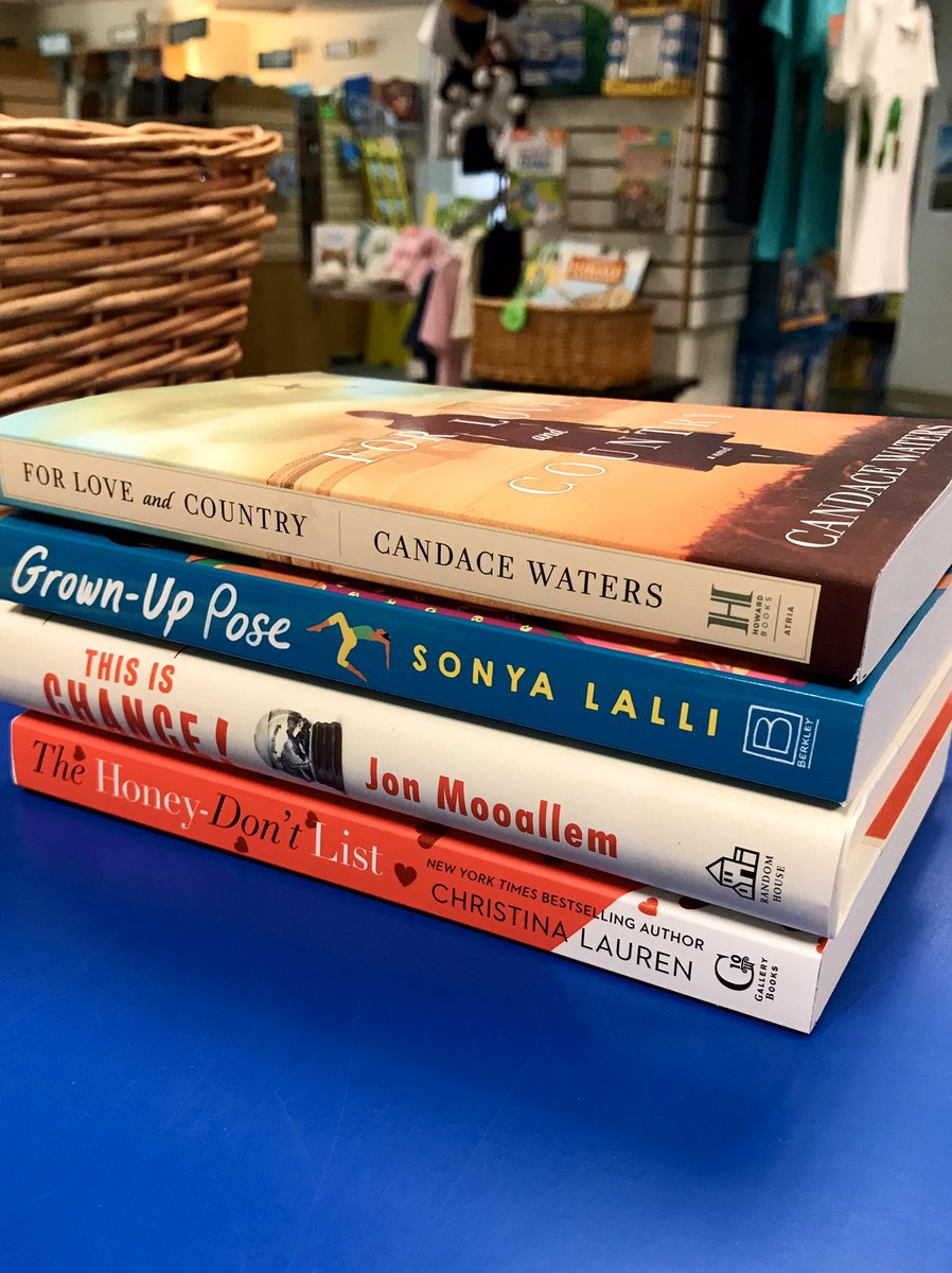 Some recent releases for grown-ups. Call 703-548-4092 if you see something you'd like to pick up or get delivered!  #newbooks #nonfiction #fiction #indiebookstore #shopindie #supportlocal #weship #curbsidepickup #forloveandcountry #grownuppose #thisischance #thehoneydontlistpic.twitter.com/q7aye03TiT