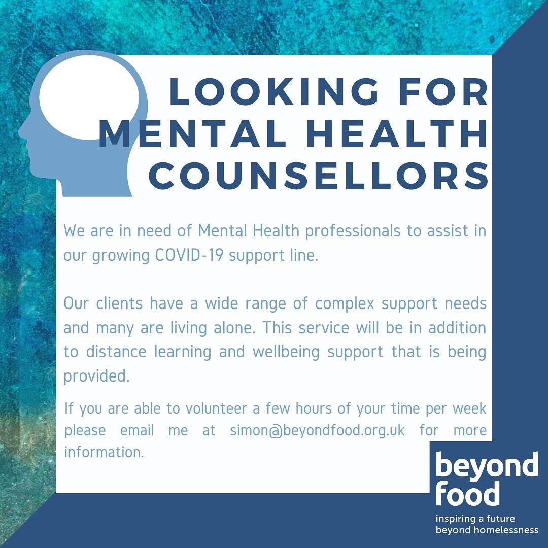 Please get in touch if anyone in our network can offer support. RT and share please #bizbuzz #londonbuzz #volunteering https://t.co/hcZDS2X3NY