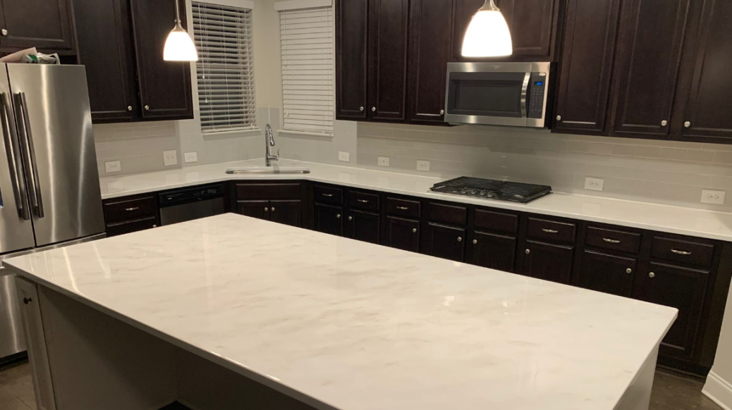 #Wood #counters can hold on to moisture and #microbes. EW! Know what's great about #epoxycountertops? The smooth, non-porous surface is as easy to clean as #marble or #granite. Spray with an #antimicrobial cleaner, wipe, and let dry. Choose epoxy and choose cleanliness!