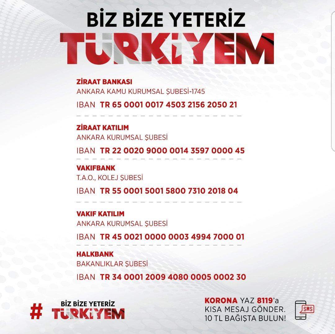 Cumhurbaşkanımız Sayın @RTErdogan'ın başlatmış olduğu #BizBizeYeterizTürkiyem kampanyası Haydi İstanbul, şimdi #MilliDayanışma zamanı.🇹🇷 #bizbizeyeteriz