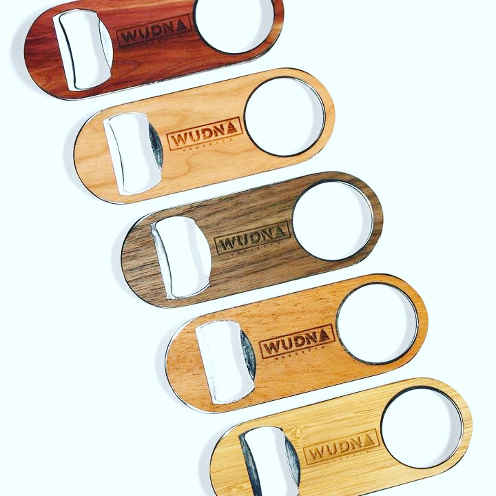 Don't be home without one! Simple, sturdy, and straight to the point.  Stainless steel body for superior durability. 100% real wood finishing from locally sourced wood in the U.S.  #wood #woodwork #bottleopener #beerstagram #beerlover #stayhome #staystrong #Monday