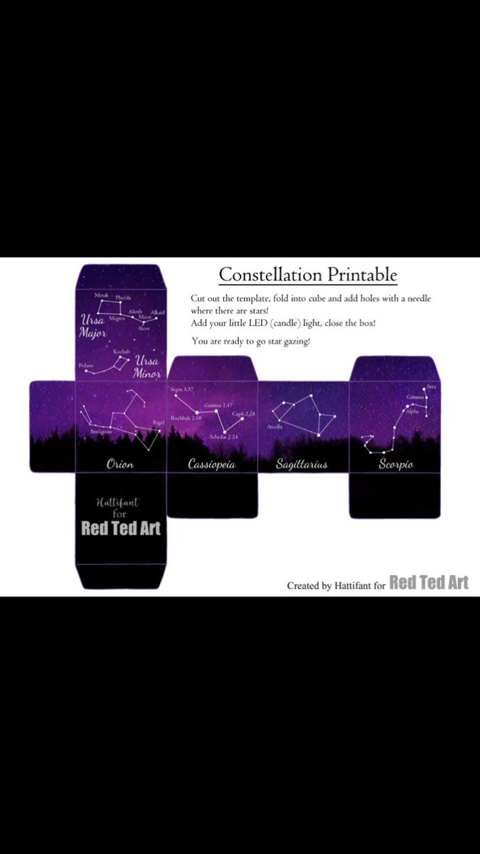 Going to have to print this cube out tomorrow I reckon #ScienceFromHome #ScienceIsAwesome  https://www.redtedart.com/5-constellations-kids-should-know/?fbclid=IwAR3k6TUb9txOt34TG0PTxJajkNsmhjqsW90i51howVR6W7-HbjQX2kYiFFQ…pic.twitter.com/EAmfBLa0Kj