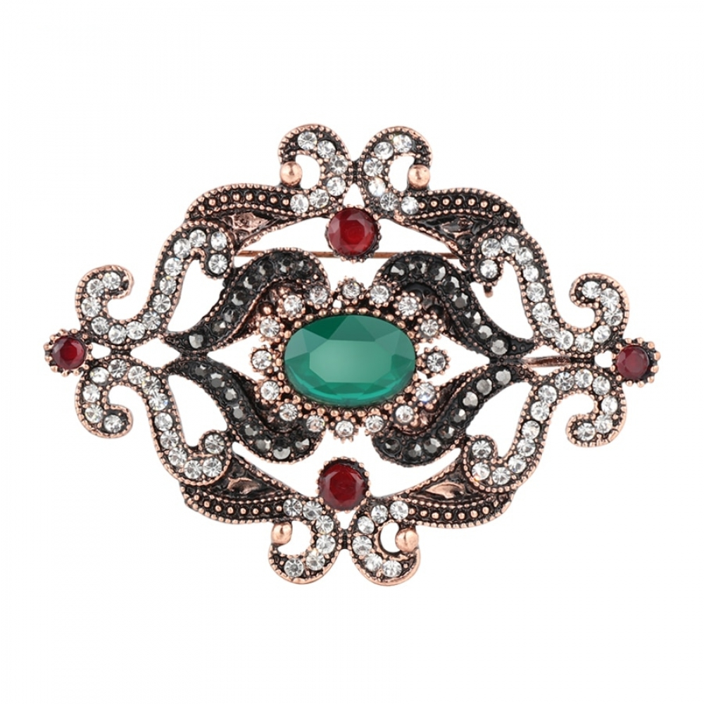 Women's Gaye Crystal Brooch #friends #cool