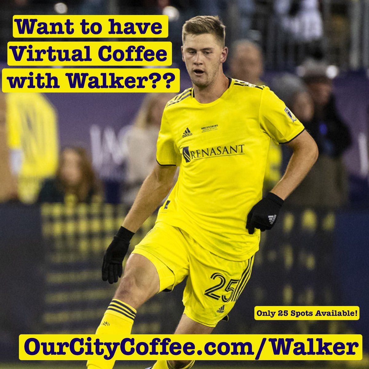Stuck inside? Whose down for a (virtual) cup of joe  w/ @thewalkerzim ☕️?!  Super excited to announce our charitable partnership with Walker with proceeds going to @CRCNashville 🙏  Link to join us 👇  https://t.co/BdPE1mO1Qx https://t.co/yQ66uZOcN5