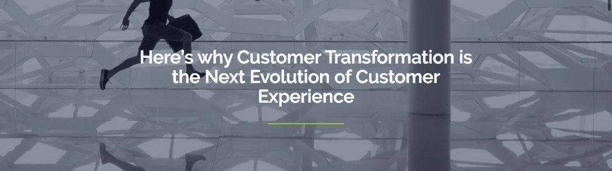 Pine & Gilmore predicted the eventual evolution of the Experience Economy into the Transformation Economy https://www.millerheimangroup.co.uk/blog/heres-why-customer-transformation-is-the-next-evolution-of-customer-experience/ … #customerservice   #customerexperience pic.twitter.com/k3gnEJqXcy