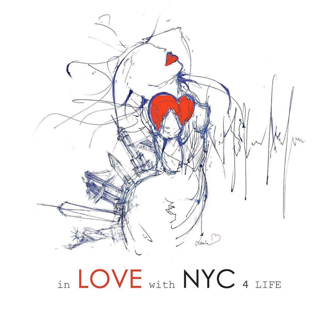 #bestrong NYC ... #mebylenka #love #selflove #humanity #life #lifestyle #nyc #positivevibes #positiveenergy #healing #art #sketch #healing