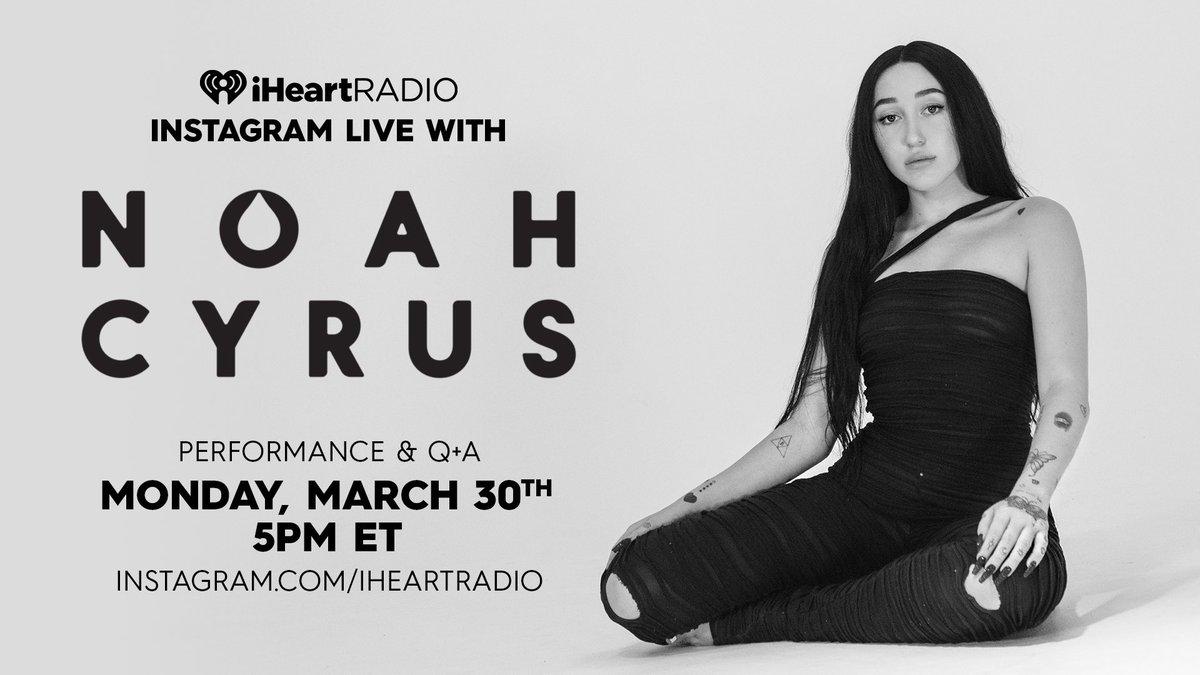 today 🖤 @iHeartRadio