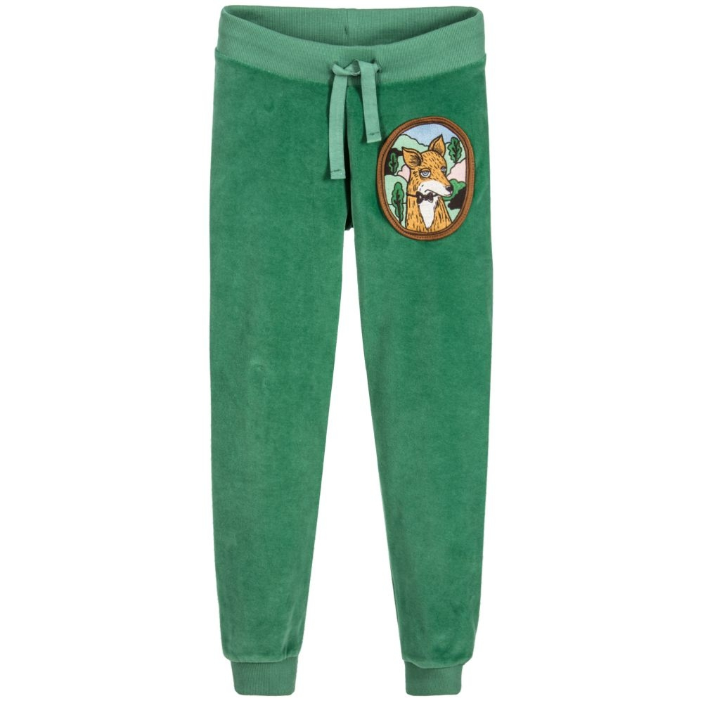 #friends #cool Kid's Fleece Winter Pants Fox Appliques