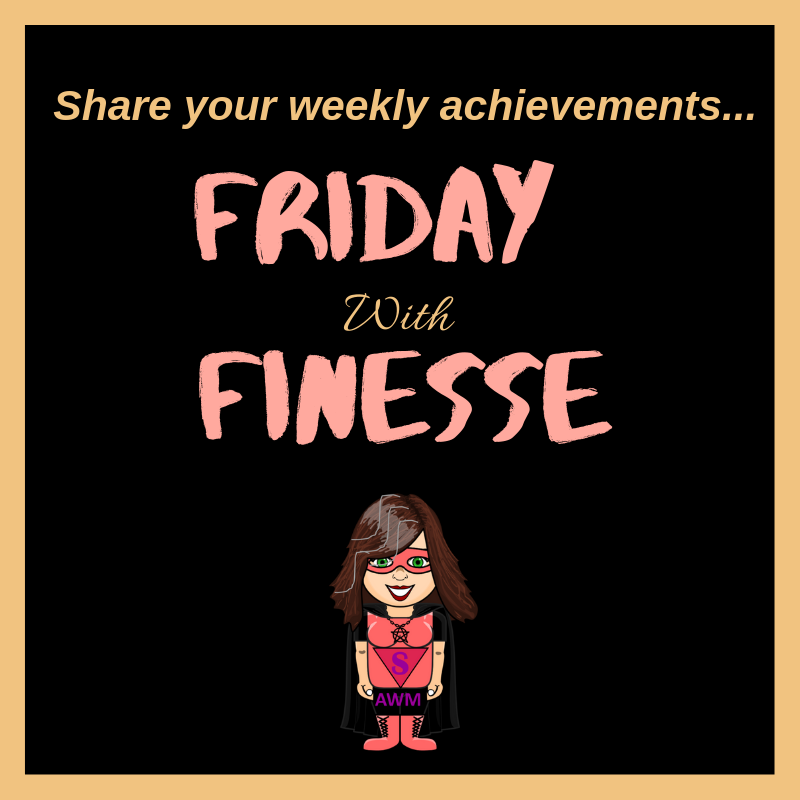 Did you achieve your 'monster' writing goals? Friday with Finesse – Celebrate your wins of the week, here!  http://www.aspiringwarriormum.com/2019/07/05/friday-with-finesse-week-10-writing-the-monster/ …  #celebratewomen #creativewomen #creativemum #busymum #businessmumpic.twitter.com/1NazzprmWq