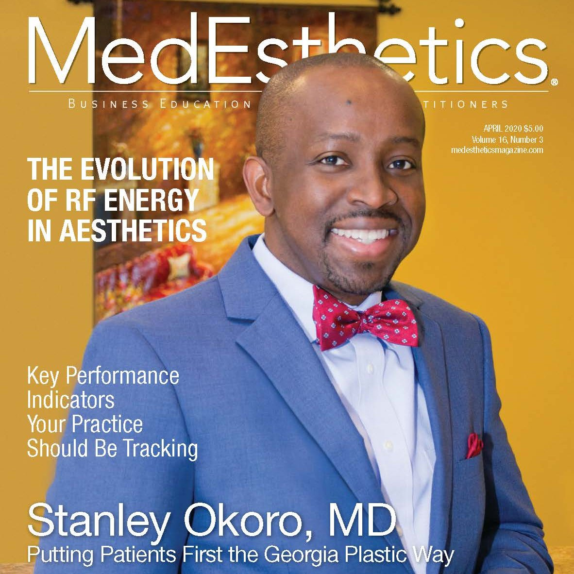 Our April issue, featuring Stanley Okoro, MD, is online now! https://t.co/KJnOQjJEQ5 https://t.co/Zau8C7KXsu