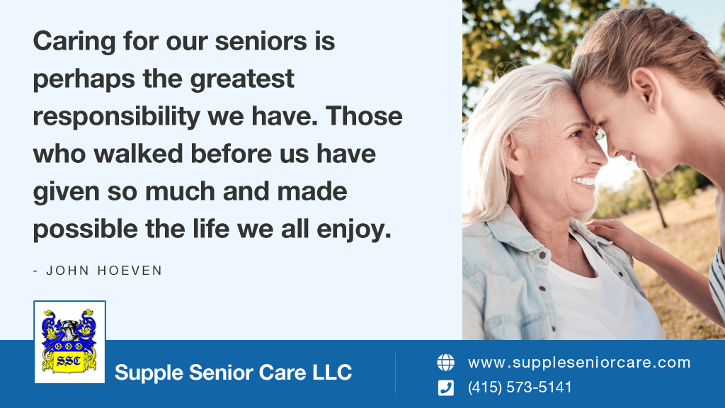 Caring for our seniors is perhaps the greatest responsibility we have. Those who walked before us have given so much and made possible the life we all enjoy. – John Hoeven #seniorcare #homecare<br>http://pic.twitter.com/Nouzn0rCCf