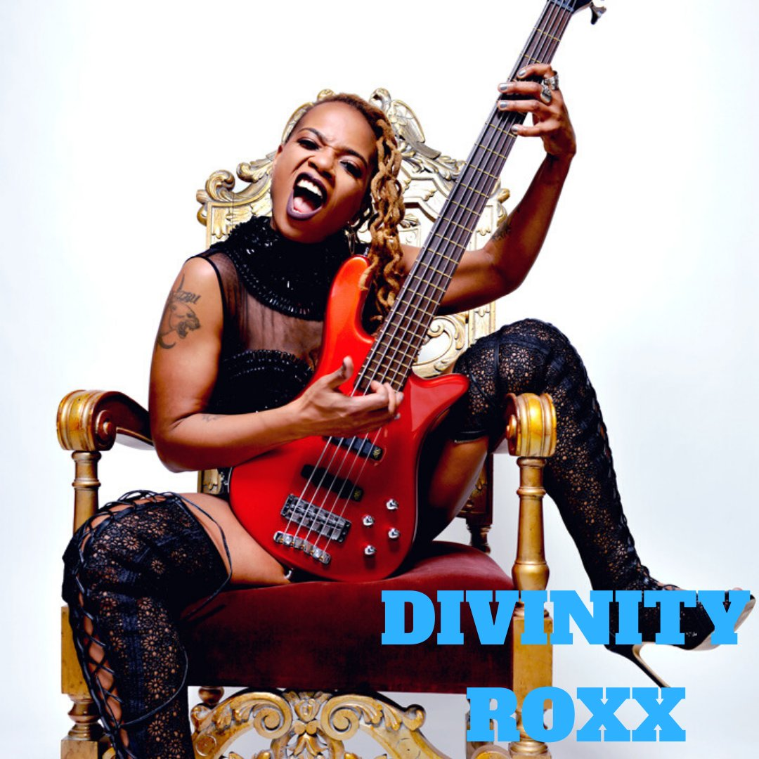 Divinity Roxx is an incredible bassist, composer, and musician with an extensive and impressive track record in the music industry thus far. Read more about her in our latest piece: http://ow.ly/GGT450z0g0Lpic.twitter.com/gnY2yn3ytN
