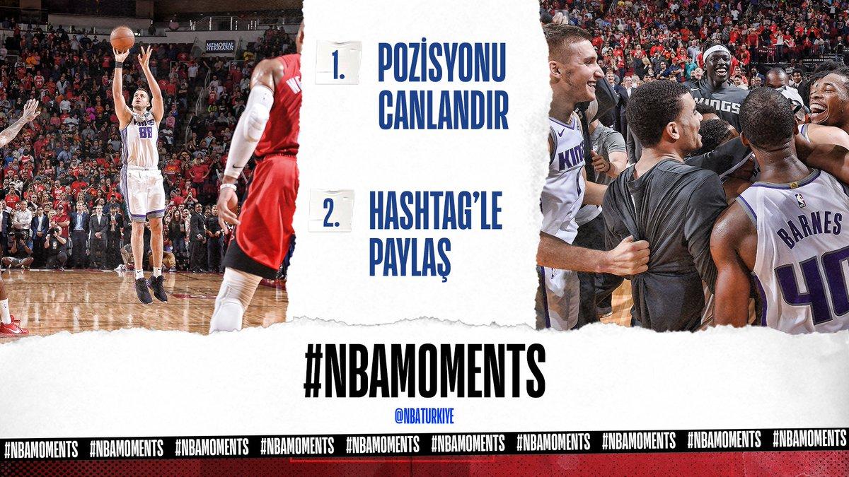 🚨 NEMANJA 🚨  📹 Pozisyonu canlandır, videoya çek ve #NBAMoments hashtag'iyle paylaş! https://t.co/SONEKG1F20