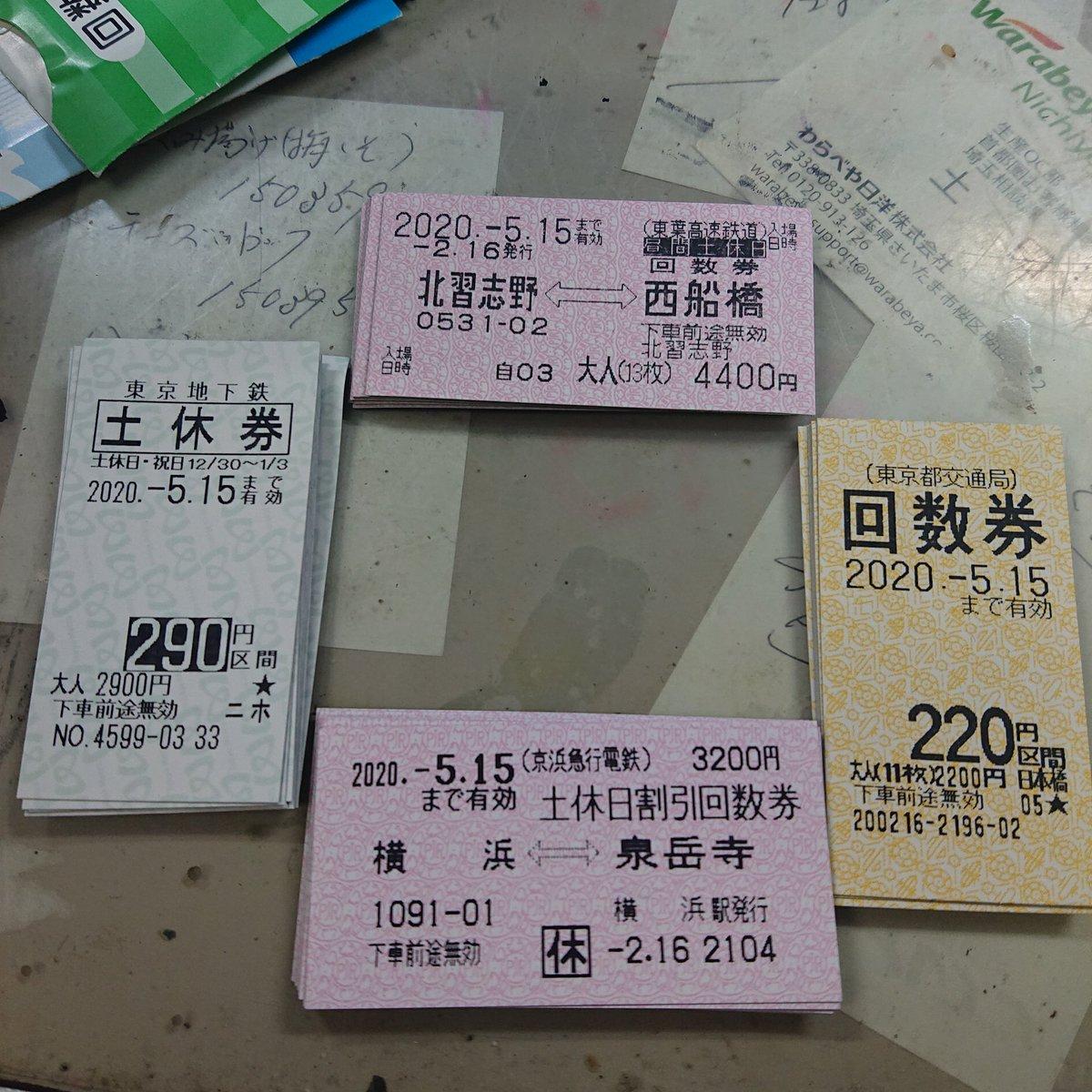 払い戻し 回数 券 東京 メトロ