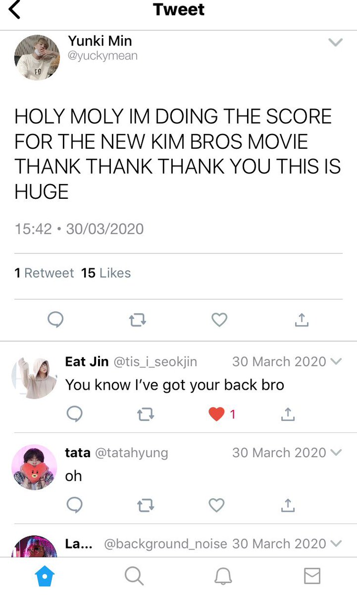 #TaegiAU where two of the Kim brothers are movie stars but Yoongi's been in love with the youngest one since... well. Since forever.  #socialmediaau #taegipic.twitter.com/0CH8I7gXk1