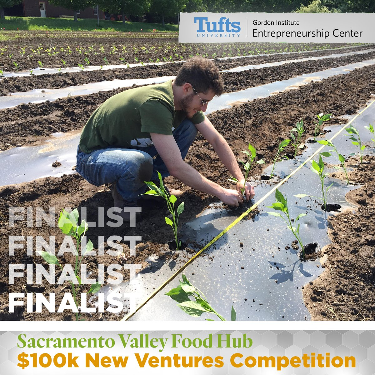 The Sacramento Valley Food Hub organizes and connects restaurants, food entrepreneurs and underserved communities with healthy, local produce from small and beginning sustainable farmers. Watch the team compete live at the $100k New Ventures Competition: https://bit.ly/2UaiAc9 pic.twitter.com/yxVoNYplcE
