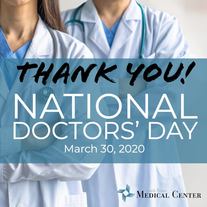 Photo from 30 Mar 2020 by @SouthTexasMed on Twitter