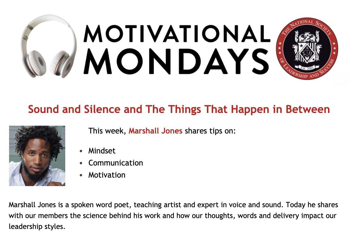 @theNSLS's photo on #MotivationalMonday