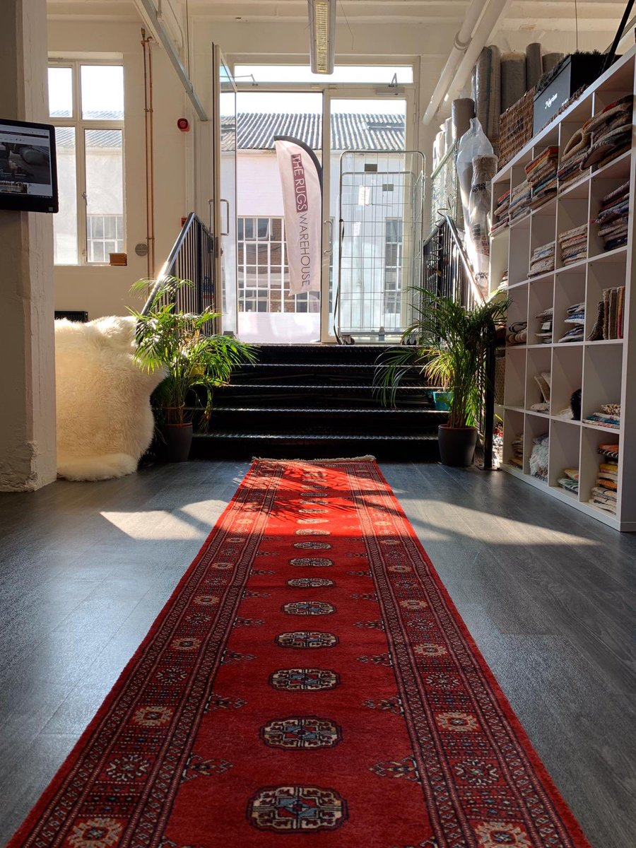 Hallway Hand Knotted Wool Bokhara Rug