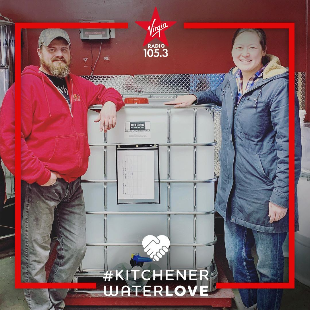 Local alcohol producers deserve some #KitchenerWaterLOVE for using their resources to produce hand sanitizer for front line workers! Thank you to Dixon's Distilled Spirits, Junction 56 Distillery, & Murphy's law Distillery Ltd. for your great work!  #kwawesome #wregionawesomepic.twitter.com/y3ZmvWPR9W
