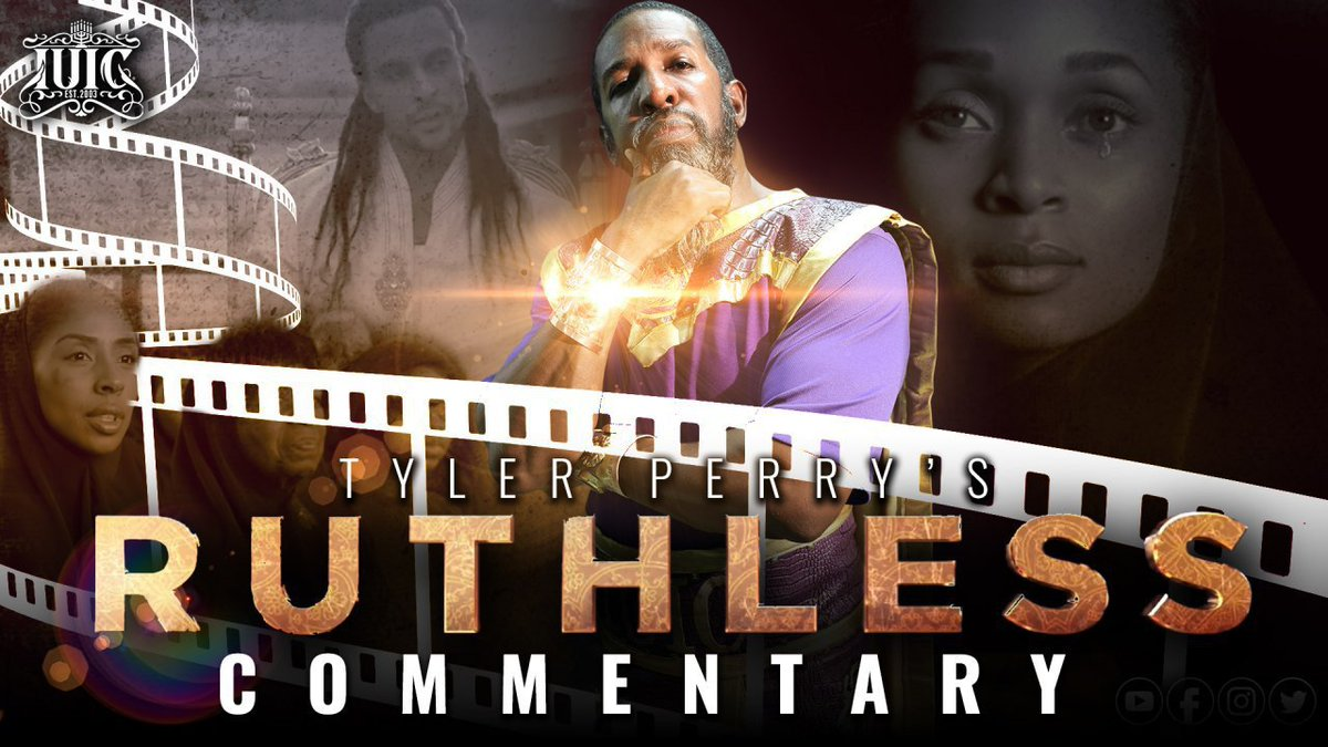 #StayTuned Immediately following #IUIC #PatientSaintsRadio go to #IUICEvents #YouTube channel  @12:15pm for the Bishop's #exclusive commentary on @TylerPerry new #dramaseries #Ruthless. Is the mogul actor director producer throwing shade at the Israelites? #TuneIn to IUICEventspic.twitter.com/ea7PJt4PXh