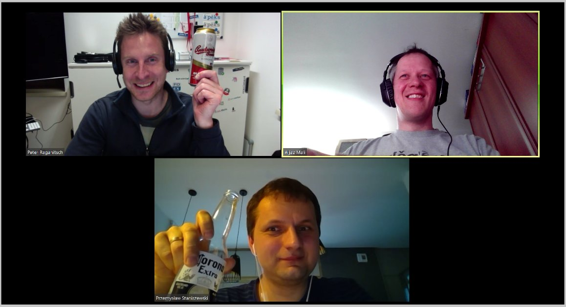 An ad-hoc #orclapex #beer call. We will schedule another call this week, please stay tuned and welcome to join pic.twitter.com/J6pnOQnDZs