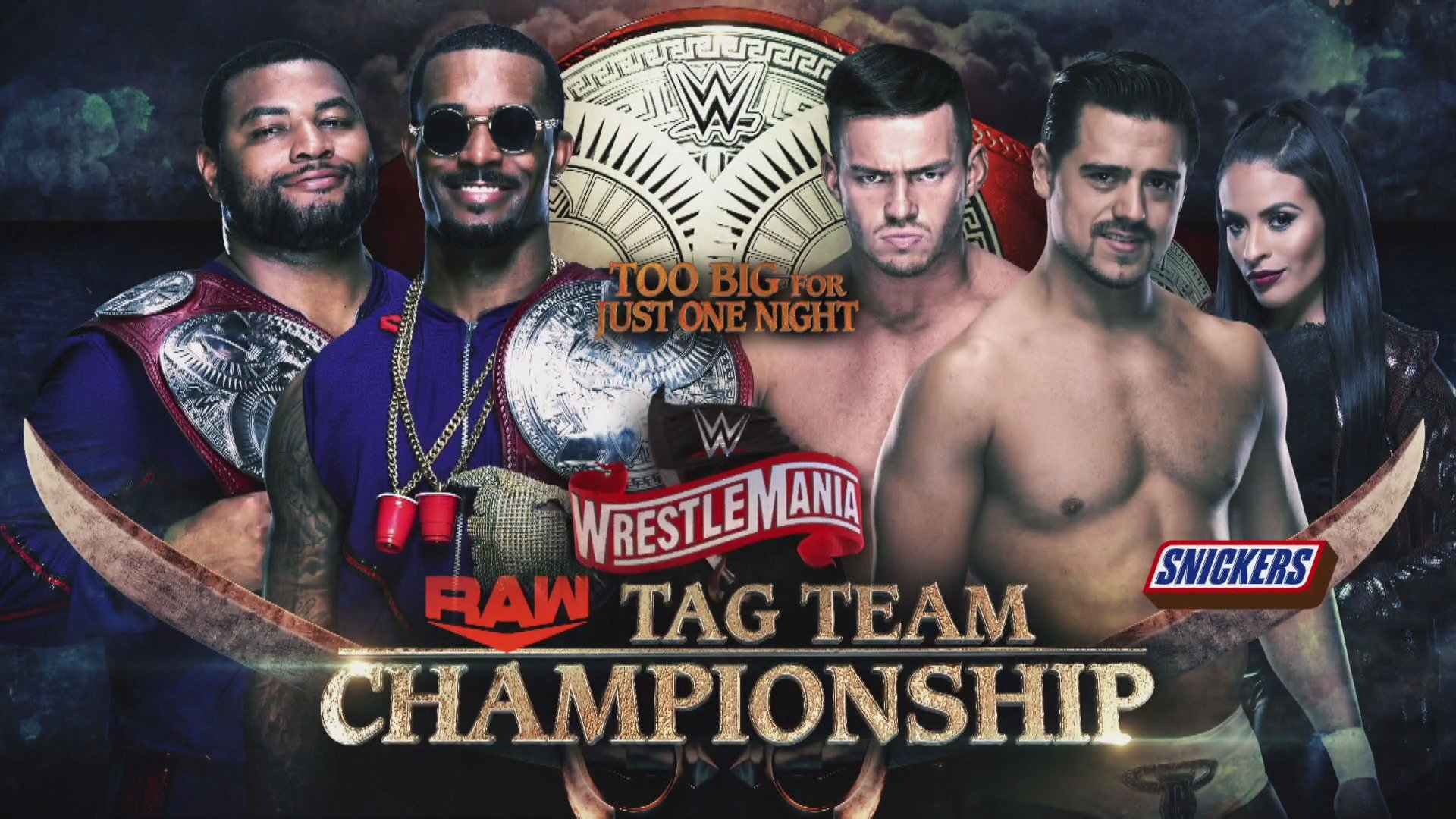 New Wrestlemania 36 Title Matches Announced On WWE Raw; Updated Card 2