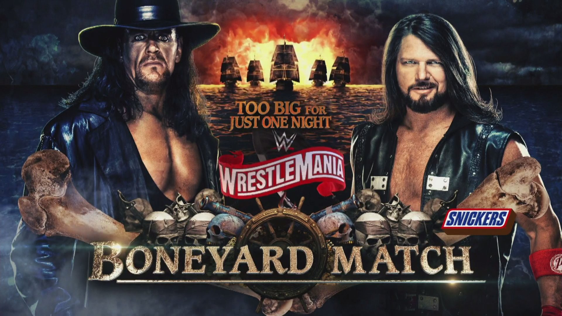 The Undertaker Vs. AJ Styles Wrestlemania Feud Continues After WWE Raw 1