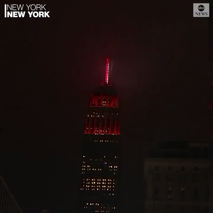 @ABC's photo on Empire State Building