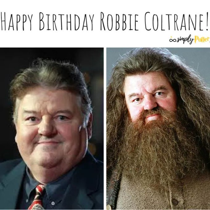 Happy 70th birthday to Robbie Coltrane (Rubeus Hagrid)!