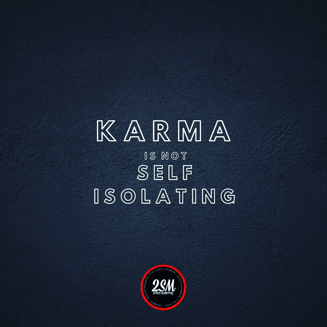 There has been some reports of price gauging and unfair business practices and people taking advantage of people. Be mindful that #Karma is not #SelfIsolating  #BeKind #Wereinthistogether #StayStrong #SydneyBusiness #AustralianBusiness #AustralianMade #SydneySocialMedia pic.twitter.com/i3uCNrEYS1