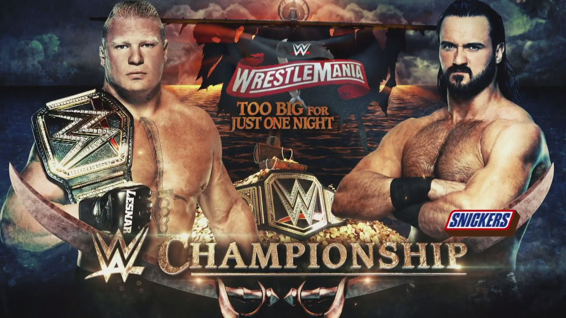 WWE Wrestlemania 36 Full Match Card, Preview & Predictions 1