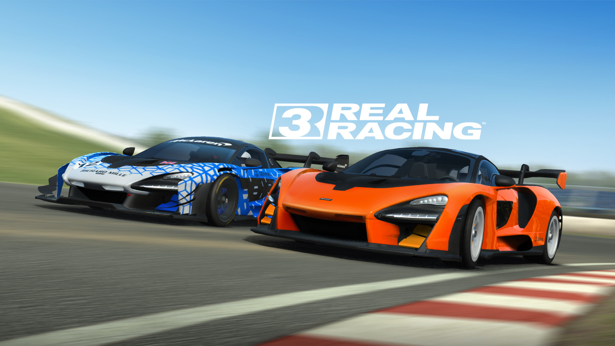 "Real Racing 3 on Twitter: ""You asked for it now strap in as two  unbelievable hypercars come to Real Racing! Drive the striking @McLarenF1  Senna and its counterpart the McLaren Senna GTR."