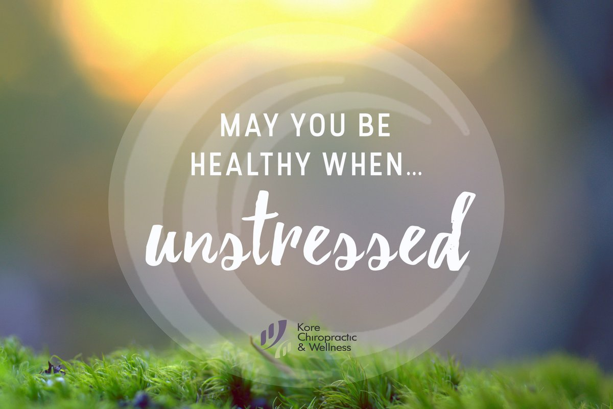 May you be #healthy when unstressed... 🙏   💬 #quote #motivation #inspiration  🥰 #wellness #mindfulness #positivity  @KoreChiro https://t.co/byqtjnuVah https://t.co/hNWaDZ2dMn