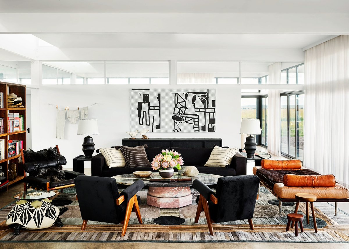#InteriorInspo: Photographer Douglas Friedmans home in Marfa, Texas 🏜️ How are you making your home more enjoyable? 🏠 #interiordesign #designinspo #homedecor #interiors #decor #homedesign #interiorstyling