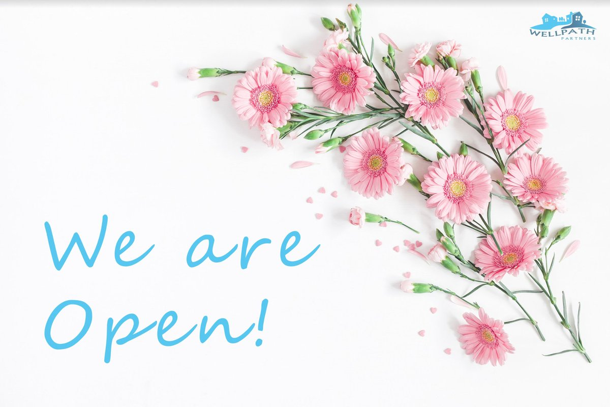 WellPath Partners is still open for your senior care needs! Our friendly resource partners are safe, working from home, and ready to help per usual. 🦋