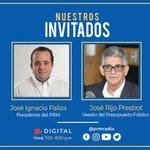 Image for the Tweet beginning: Nuestros invitados @JosePaliza y @j_rijo