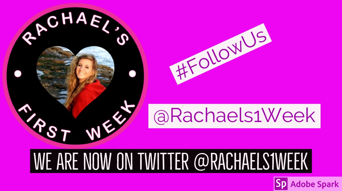 WEVE MOVED! @Rachaels1stWeek  is now on Twitter at @Rachaels1Week . Please follow us here as we work to inform and #educate  #teens  and young adults about the dangers and #risks  they face after high school. Learn more at  https://bit.ly/2O7C3ob  .  SUPPORT = FOLLOW! @Mommafiege
