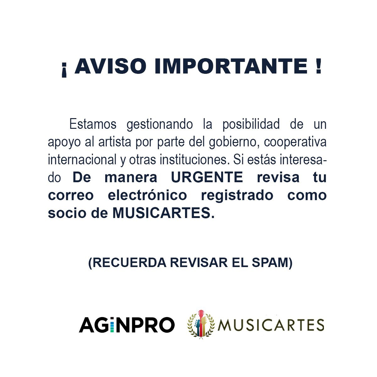 ⚠️AVISO IMPORTANTE⚠️ https://t.co/Nd76rEjROs