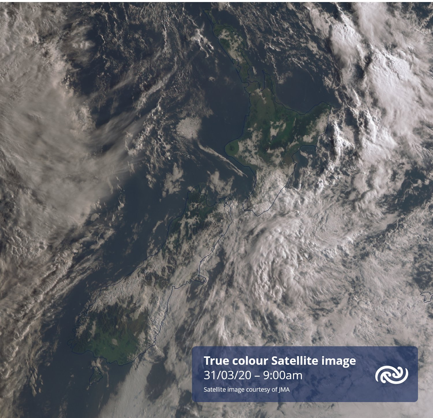 Fog trapped in valleys is one of this forecasters favourite things (I'll drop some loops shortly). Anyway, slow moving ridge means Weds early sat pic likely to look very similar to today's, with patchy low cloud or fog from Northland to Southland! metservice.com ^RK https://t.co/NzX5KSJTqu