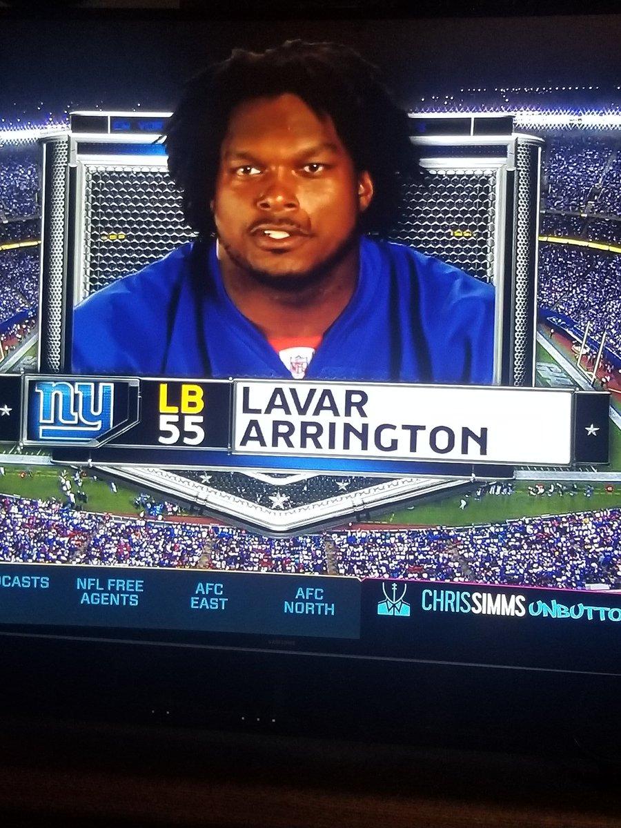 Hey @LaVarArrington, chances we see this hair on @SFY ? @WhitlockJason  #manningbowl