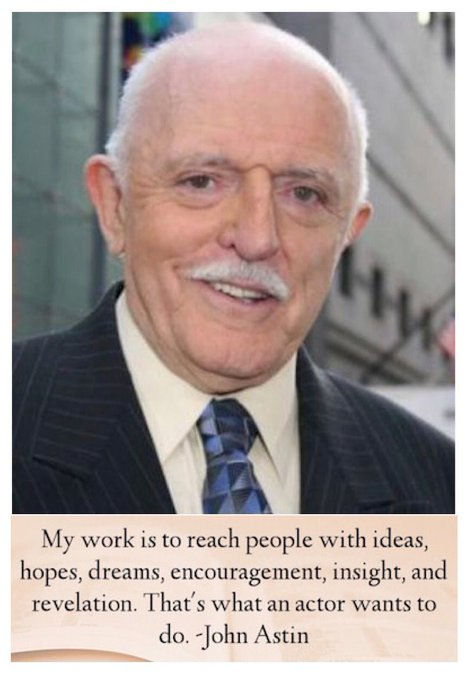 Happy Birthday to John Astin - from the original Addams Family television series.