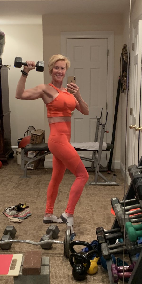 Show up, even for workouts at home Find me on #Instagram & #Facebook under the name Paulashealthyliving.com #motivation #fitover50 #healthyliving #health