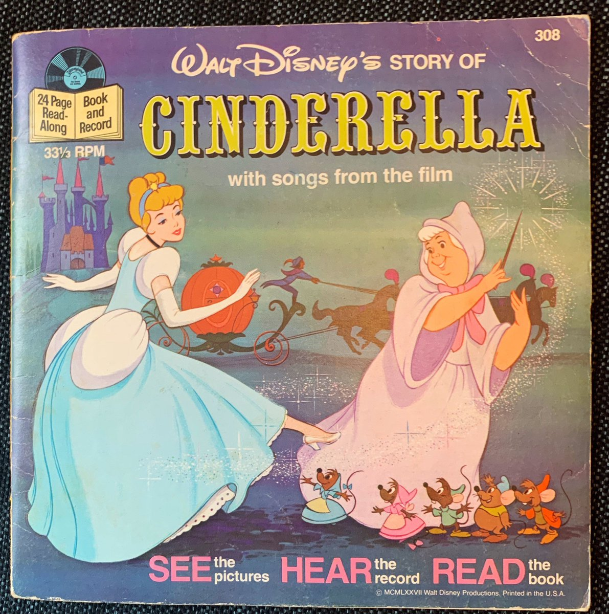 Excited to share the latest addition to my #etsy shop: Vintage Walt Disney Presents Cinderella Book and Record from 1977 https://etsy.me/2WVzVqQ #waltdisneyrecords #disneyworld #mickeymouse #1970s #recordplayer #comicbooks #cartoons #classiccharacters #comicbookpic.twitter.com/AWy1SUGQVF