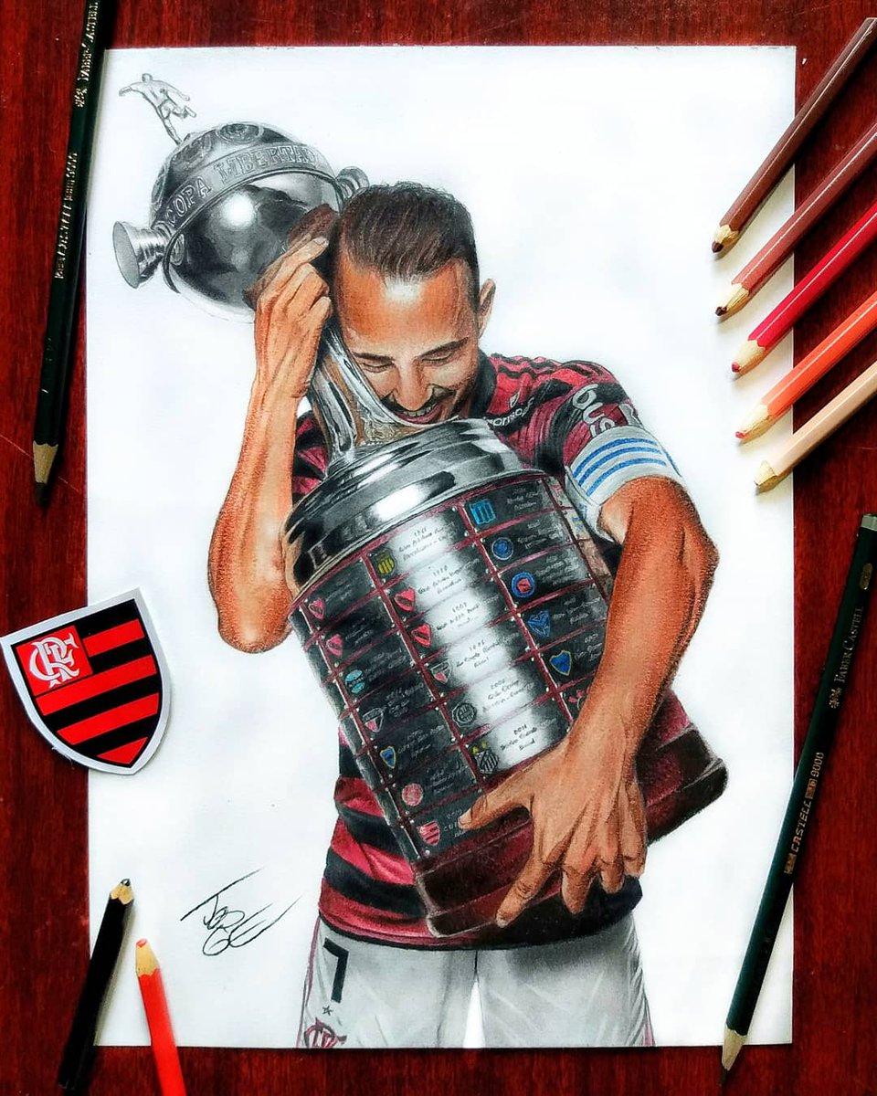 Alguns dos meus trabalhos em homenagem aos craques e ídolos do Flamengo ❤️🔴⚫ @Flamengo #DesenhoDoTorcedor