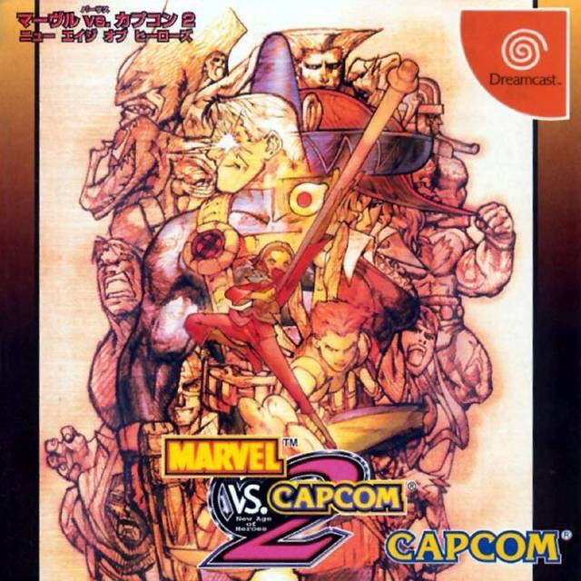 Marvel vs. Capcom 2 for Dreamcast was released on this day in Japan, 20 years ago (2000)