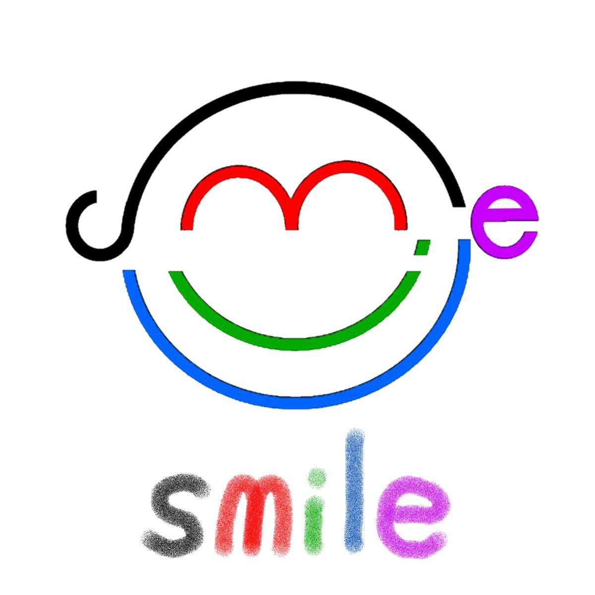 サイトーセーゾー Seizosaito とりあえず Smile Smile スマイル 笑顔 イラスト 文字 文字絵