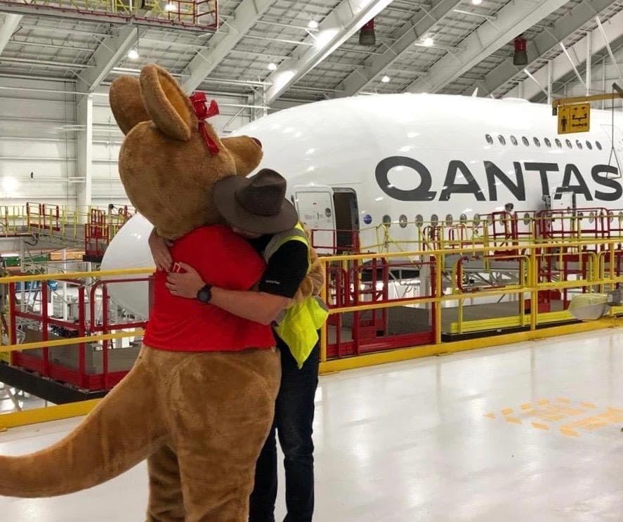 Our Qantas team have been saying farewell (for now) to our international flights from across the globe.   We're still operating international freight services to move vital goods to and from Australia as well as some domestic and regional routes for essential travel.